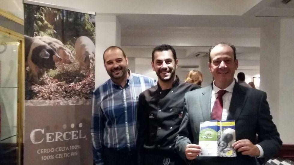 Las delicatesen de porco celta de Sarria triunfan en Londres