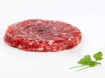 Hamburguesa de ternera raza rubia autóctona de Galicia