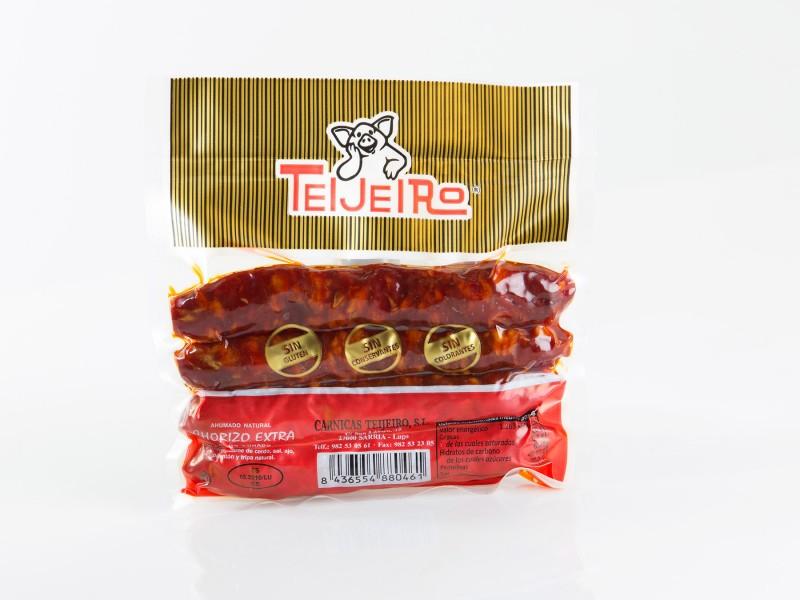 Chorizo extra bolsa 4 unidades