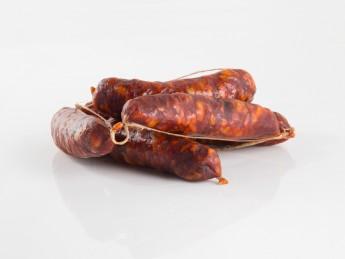 Chorizo curado en ristra