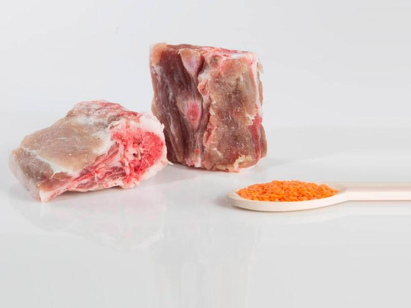 Espinazo o solana de cerdo celta