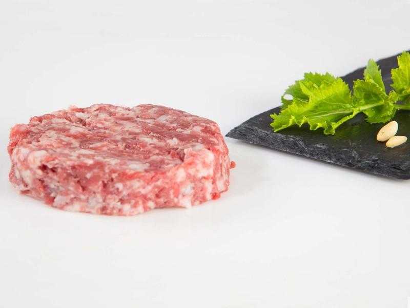 Hamburguesa de porco celta Gourmet