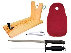 Accesorios para cortar jamón - Cárnicas Teijeiro